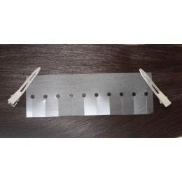 Szablon - choraniacz do wydzielania / tworzenia pasemek w równych rzędach