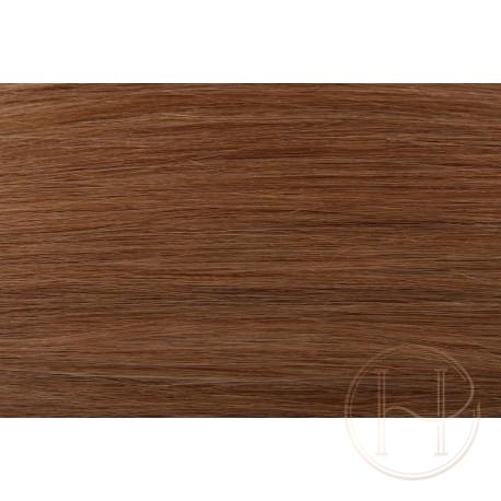 12 średni złocisty blond EUROPEJSKIE 50cm REMY do microringów