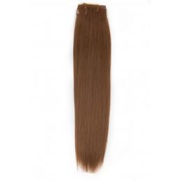 12 średni złoty blond 40cm na taśmie 100g