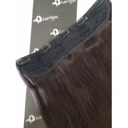 Dopinka - treska 50cm 150g  FULL HEAD 1b bardzo ciemny brąz