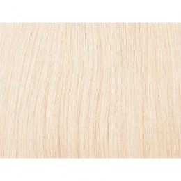 60 platynowy blond 40cm GoldLine MIKRORINGI 20szt. REMY