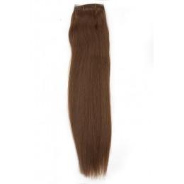 10 ciemny naturalny blond EUROPEJSKIE 50cm REMY 100gr