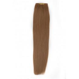 18 średni naturalny blond EUROPEJSKIE 50cm REMY 100gr