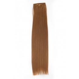 16 bursztynowy blond EUROPEJSKIE 50cm REMY 50g