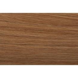SŁOWIAŃSKIE grube pasemka 18 średni naturalny blond 40cm REMY do microringów