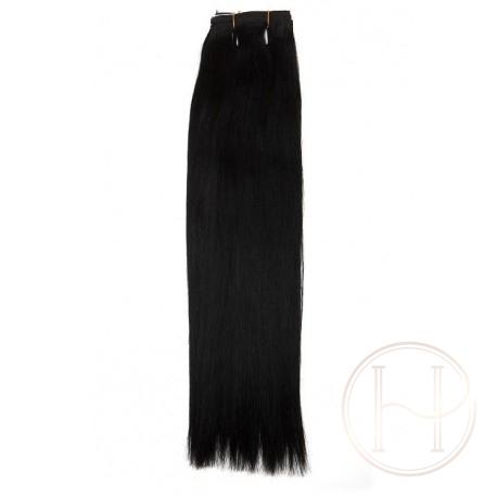 1 czarne włosy EUROPEJSKIE 50cm REMY
