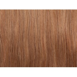 12 średni złoty blond Włosy na taśmie silikonwej 40cm skin weft TAPE ON