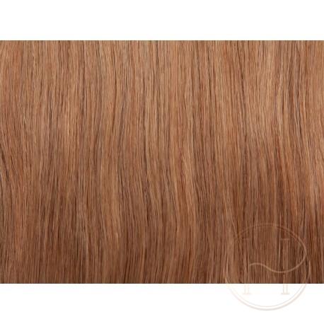 18 średni naturalny blond Włosy na taśmie silikonwej 50cm skin weft TAPE ON