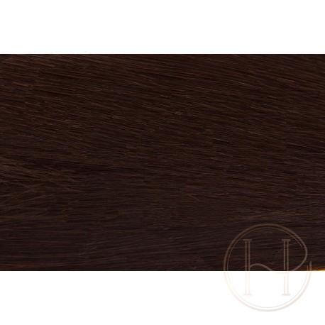 2 ciemny brąz Włosy na taśmie silikonwej 50cm