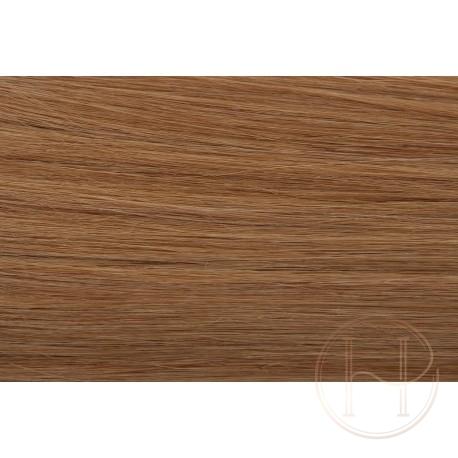 18 średni naturalny blond EUROPEJSKIE 50cm REMY do microringów