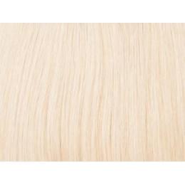 613 najjaśniejszy blond EUROPEJSKIE 50cm REMY 100gr