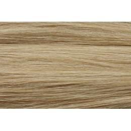 22 (beżowy blond) włosy naturalne EUROPEJSKIE 50cm REMY do microringów