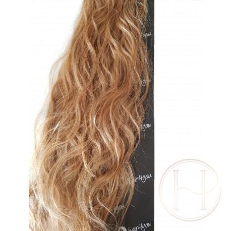 FALA 20szt do mikroringów 18 średni naturalny blond