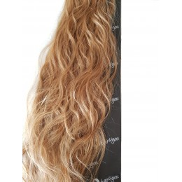 FALA 20szt na keratynę 18 średni naturalny blond