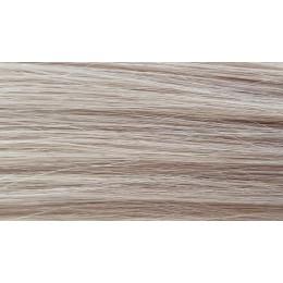 60a popielaty blond 50cm GoldLine MIKRORINGI 20szt. REMY
