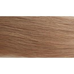 14 ciemny naturalny blond 40cm GoldLine MIKRORINGI 20szt. REMY