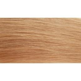 27 miodowy blond 60cm GoldLine MIKRORINGI 20szt. REMY
