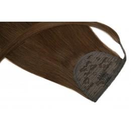 1 czarny 50cm KUCYK clip in GoldLine