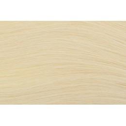 613 najjaśniejszy blond 50cm GoldLine MIKRORINGI 20szt. REMY