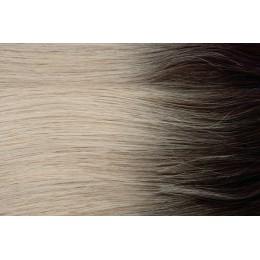 50cm GoldLine MIKRORINGI 20szt. REMY Arctic Blonde OMBRE 0,8g
