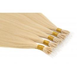 22 beżowy blond 50cm GoldLine ULTRADŹWIĘKI 20szt. REMY 0,8g flat MINI BONDES
