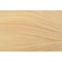 22 beżowy blond 50cm GoldLine ULTRADŹWIĘKI 20szt. REMY flat MINI BONDES