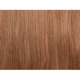 18 średni naturalny blond Włosy na taśmie silikonwej 50cm TAPE ON