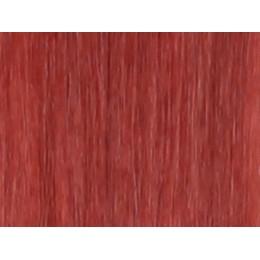 350 ognisty rudy Włosy na taśmie silikonwej 50cm TAPE ON