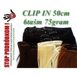 ZESTAW CLIP IN standard 6taśm 75GRAM