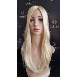 Tooper tupet damski elastyczny tył i boki jasny blond