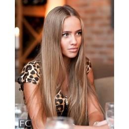 14 średni blond toffe EUROPEJSKIE 50cm REMY do microringów