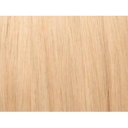 24 blond Włosy na taśmie silikonwej 50cm TAPE ON