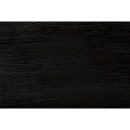 1 czarny Włosy na taśmie silikonwej 40cm TAPE ON