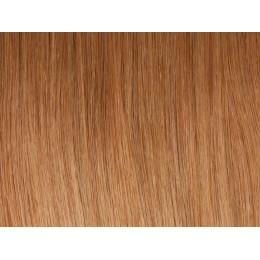 27 miodowy blond Włosy na taśmie silikonwej 40cm TAPE ON