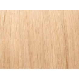 24 blond Włosy na taśmie silikonwej 40cm TAPE ON