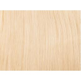 613 najjaśniejszy blond Włosy na taśmie silikonwej 40cm skin weft TAPE ON