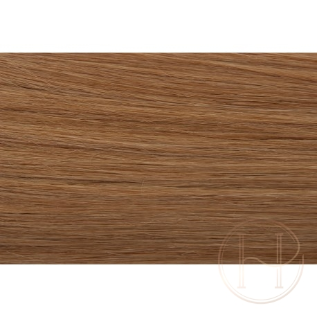 NANORINGI 10 ciemny naturalny blond REMY 50cm pasemka